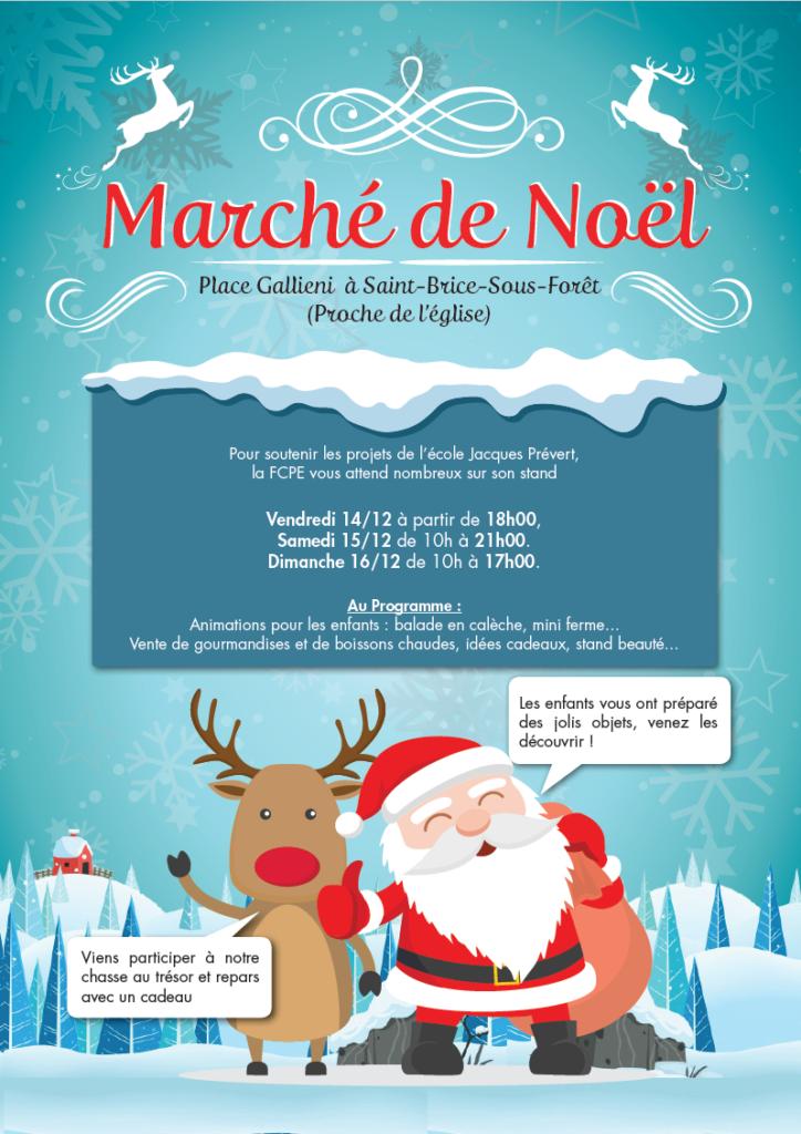 Marché de Noël FCPE