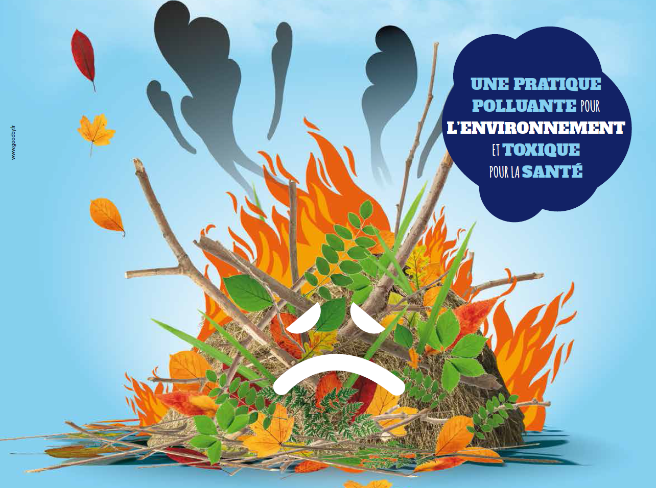 Rappel: interdiction de brûler les déchets vert.