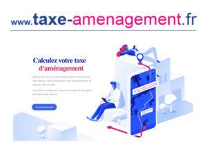Simulateur de calcul  de la taxe d'aménagement