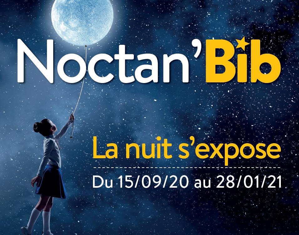 Noctan'Bib – La nuit s'expose dans les bibliothèques de Plaine Vallée