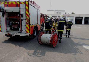 Calendrier 2021 des sapeurs-pompiers de Domont