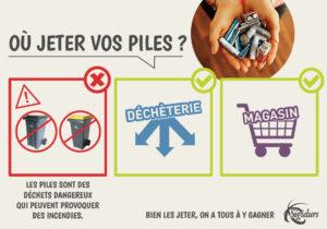 Recycler ses piles, c'est facile et utile !