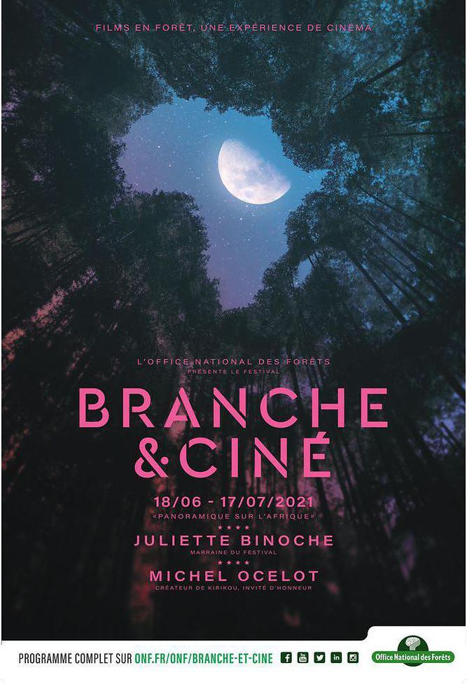 BRANCHE et CINE vous donne rendez-vous en forêt de Montmorency